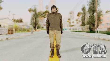MGSV Phantom Pain CFA Sniper pour GTA San Andreas deuxième écran