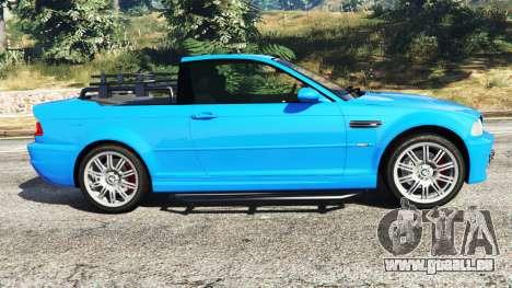 BMW M3 (E46) 2005 Pickup pour GTA 5