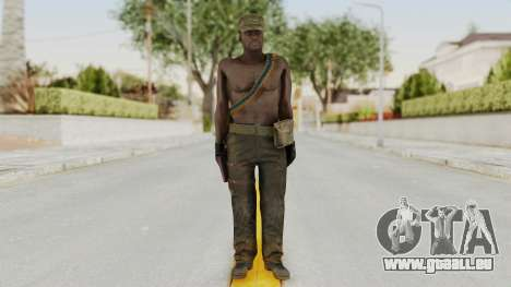 MGSV Phantom Pain Rogue Coyote Soldier Naked v2 für GTA San Andreas zweiten Screenshot