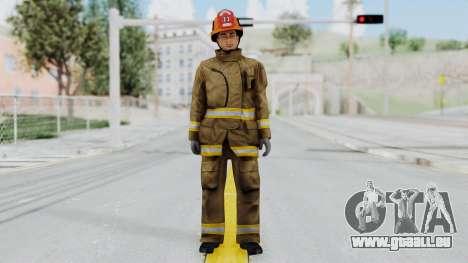 GTA 5 Fireman LS für GTA San Andreas zweiten Screenshot
