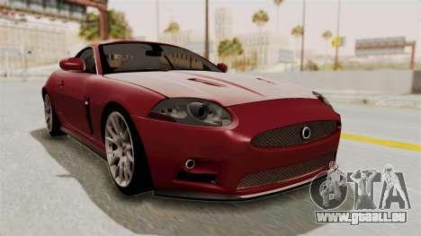 Jaguar XKR-S für GTA San Andreas