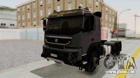 Volvo FMX Euro 5 6x4 pour GTA San Andreas
