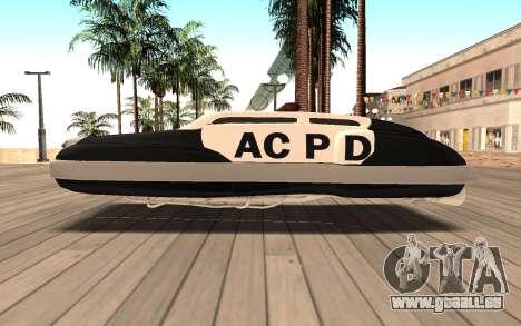 Flying Police für GTA San Andreas linke Ansicht
