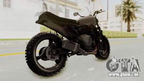 Mad Max Inspiration Bike pour GTA San Andreas vue de droite