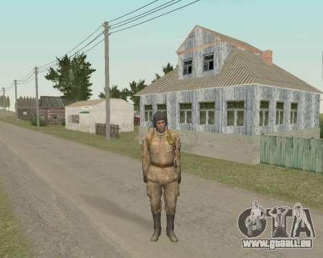 Les soldats soviétiques pour GTA San Andreas deuxième écran