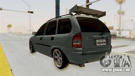 Chevrolet Corsa Wagon Tuning pour GTA San Andreas laissé vue