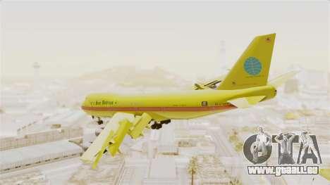 Boeing 747-200 Trans San Andreas Air für GTA San Andreas linke Ansicht
