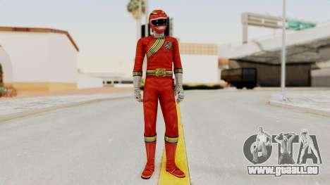Power Rangers Wild Force - Red für GTA San Andreas zweiten Screenshot