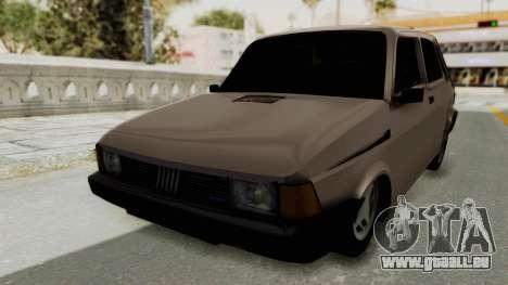 Fiat 147 TR De Picadas für GTA San Andreas zurück linke Ansicht