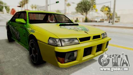 Sprunk Sultan pour GTA San Andreas vue de droite