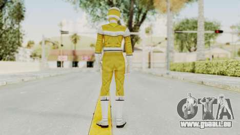 Power Rangers In Space - Yellow für GTA San Andreas dritten Screenshot