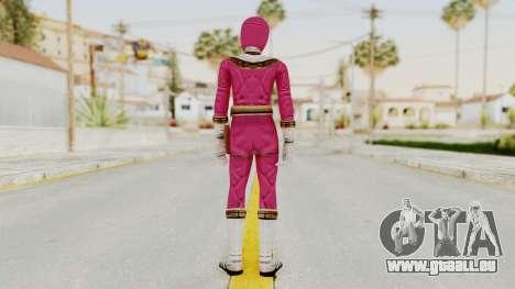 Power Ranger Zeo - Pink pour GTA San Andreas troisième écran