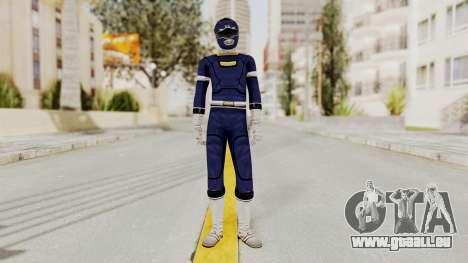 Power Rangers Turbo - Blue pour GTA San Andreas deuxième écran