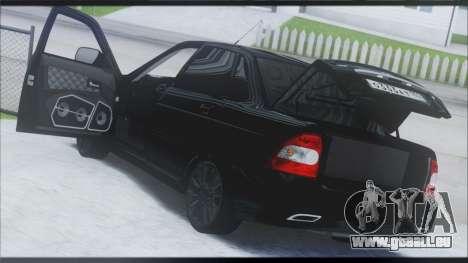 Lada Priora Sedan für GTA San Andreas rechten Ansicht