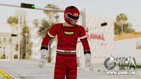 Power Rangers Turbo - Red für GTA San Andreas