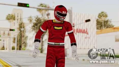 Power Rangers Turbo - Red für GTA San Andreas