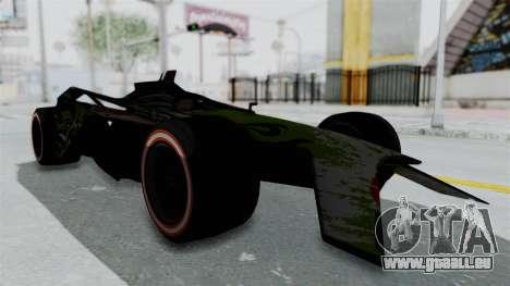 Bad to the Blade from Hot Wheels für GTA San Andreas rechten Ansicht