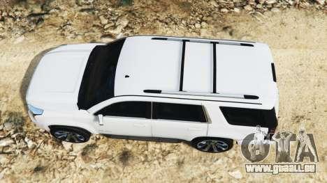 GTA 5 GMC Yukon Denali 2015 vue arrière