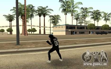 De nouveaux sans-abri v4 pour GTA San Andreas troisième écran