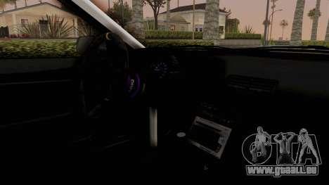 Nissan Skyline R32 Rusty Rebel für GTA San Andreas Rückansicht
