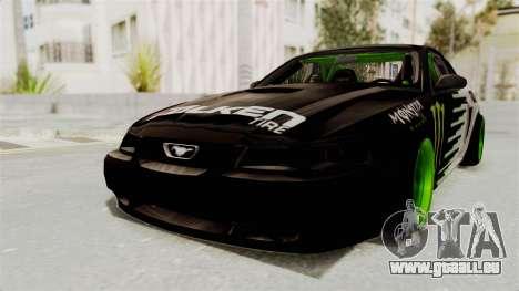 Ford Mustang 1999 Drift Monster Energy Falken pour GTA San Andreas