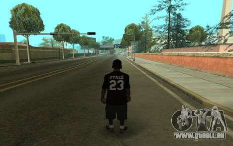 Grove Gang Skin pour GTA San Andreas deuxième écran