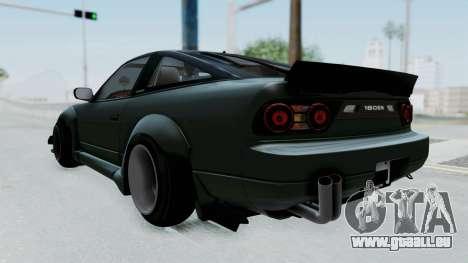Nissan Sileighty Rocket Bunny pour GTA San Andreas sur la vue arrière gauche