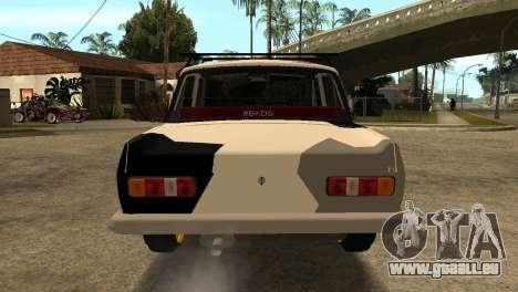 AZLK 412 pour GTA San Andreas vue de droite