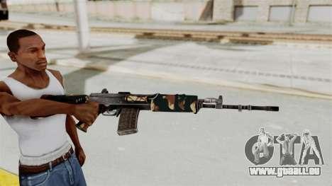 IOFB INSAS Camo v2 für GTA San Andreas dritten Screenshot