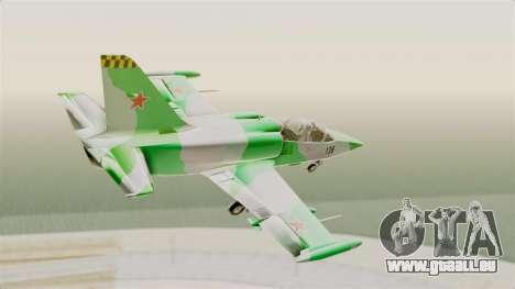 LCA L-39 Albatros für GTA San Andreas rechten Ansicht