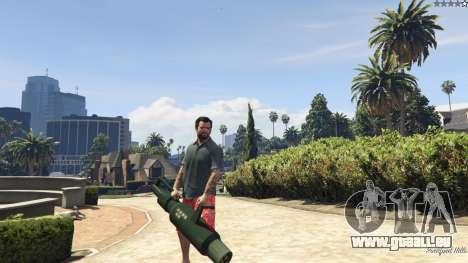 GTA 5 Weapon Variety 0.9 huitième capture d'écran