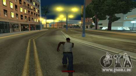 Der Indikator, der schnell laufen für GTA San Andreas
