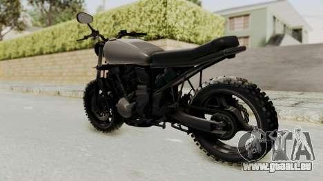 Mad Max Inspiration Bike für GTA San Andreas linke Ansicht