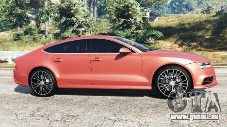 GTA 5 Audi A7 2015 linke Seitenansicht