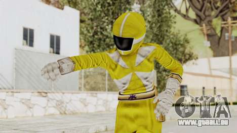 Power Rangers Lightspeed Rescue - Yellow pour GTA San Andreas