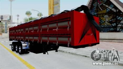 Kenworth T800 Carreta de Arena pour GTA San Andreas