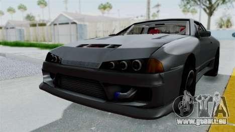 Elegy v2 pour GTA San Andreas vue de droite