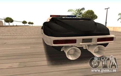 Flying Police für GTA San Andreas zurück linke Ansicht