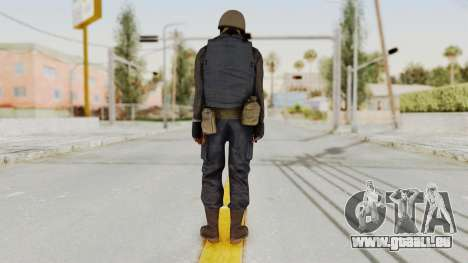MGSV Phantom Pain RC Soldier Vest v2 für GTA San Andreas dritten Screenshot