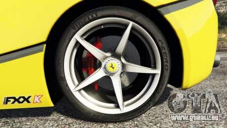 GTA 5 Ferrari LaFerrari avant droite vue de côté
