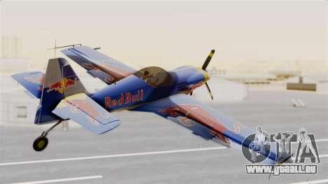 Zlin Z-50 LS Redbull für GTA San Andreas linke Ansicht