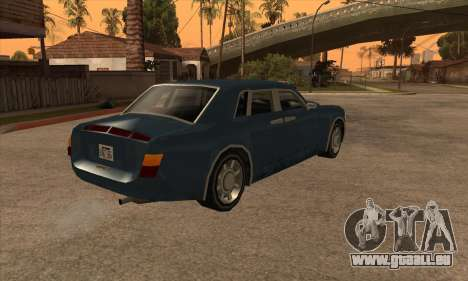 Rolls Royce Phantom für GTA San Andreas linke Ansicht