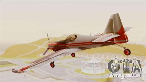 Zlin Z-50 LS Classic pour GTA San Andreas laissé vue