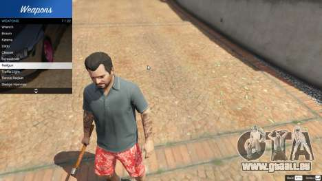 Weapon Variety 0.9 pour GTA 5