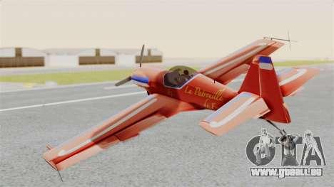 Zlin Z-50 LS v3 pour GTA San Andreas laissé vue