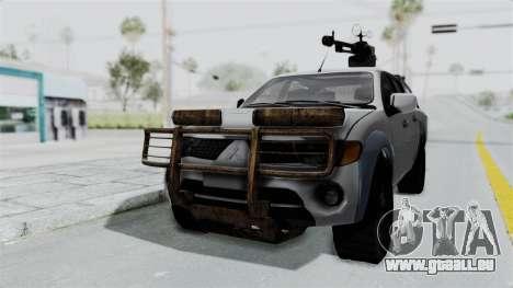 Mitsubishi L200 Army Libyan pour GTA San Andreas