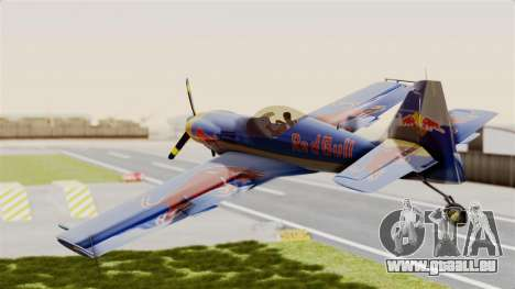 Zlin Z-50 LS Redbull für GTA San Andreas rechten Ansicht
