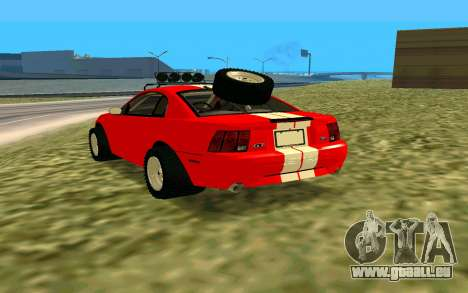 Ford Mustang 1999 für GTA San Andreas linke Ansicht