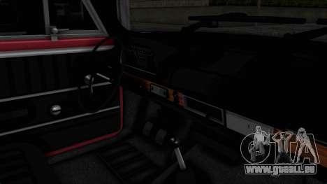 Tofas Murat 124 pour GTA San Andreas vue intérieure
