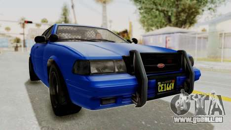 GTA 5 Vapid Stanier II Police Cruiser 2 pour GTA San Andreas